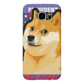 Doge president - doge-shibe-doge dog-cute doge samsung galaxy s6 cases