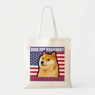 Doge president - doge-shibe-doge dog-cute doge tote bag