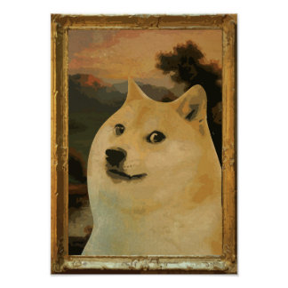 Doge Regal Poster