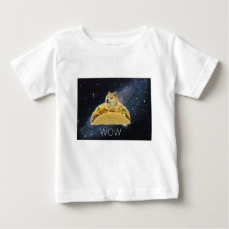 doge space taco meme baby T-Shirt