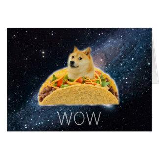 Doge taco - doge-shibe-doge dog-cute doge card