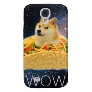 Doge taco - doge-shibe-doge dog-cute doge galaxy s4 cases