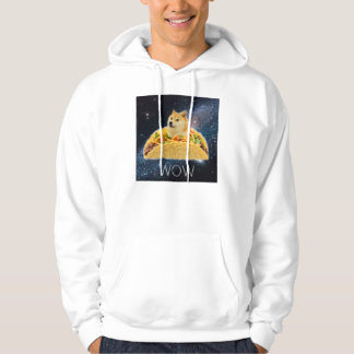 Doge taco - doge-shibe-doge dog-cute doge hoodie