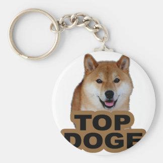 Doge Tee Shirt N.png Key Ring