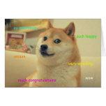 Doge Wedding Card