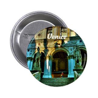 Doge's Palace - Venice, Italy 6 Cm Round Badge