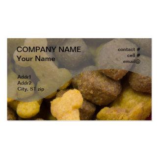 dogfood closeup business cards