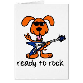 Dogg Rock Star Card