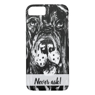 Dogge drawn iPhone 8/7 case