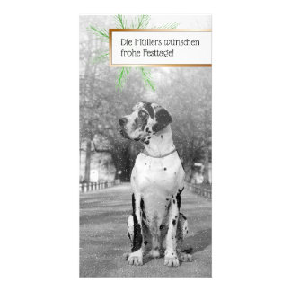 Dogge pictures card
