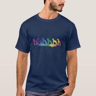 Doggenregenbogen T-Shirt