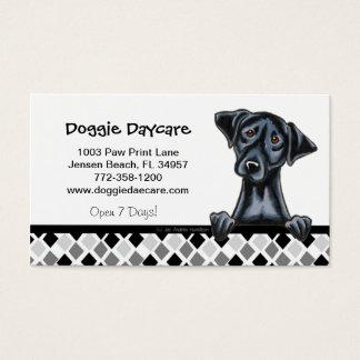 Doggie Daycare Dog Business Black Lab