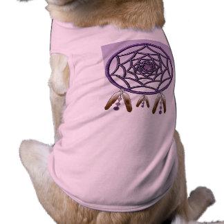 Doggie Ribbed Tank Top DREAMCATCHER Sleeveless Dog Shirt