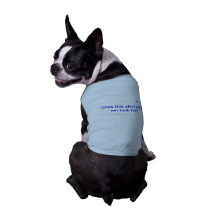 Doggie Ribbed tank top with Saying
