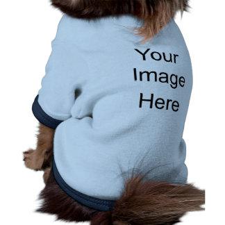 Doggie Ringer T-Shirt Pet Tees Template Pet Clothes