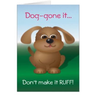 Doggie Valentine Card