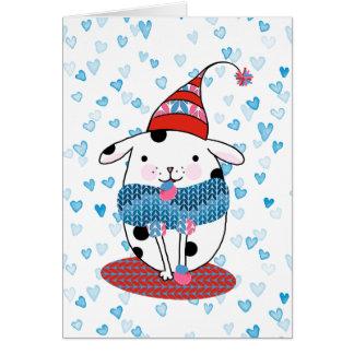 Doggone Love Card 5 x 7