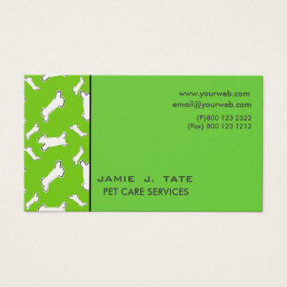 Doggy Bones Business Card