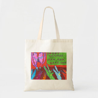 Doggy Daycare Budget Tote Bag