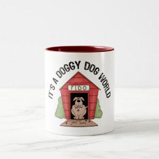 Doggy Dog World Coffee Mugs