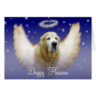 Doggy Heaven Card