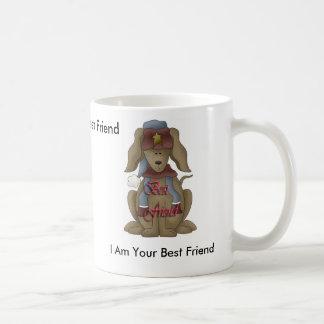 Doggy , I Am Your Best Friend, I Am Your Best F... Basic White Mug