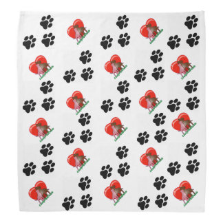 Doggy Paws Doggy Bandana