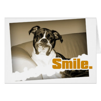 Doggy Smile Card