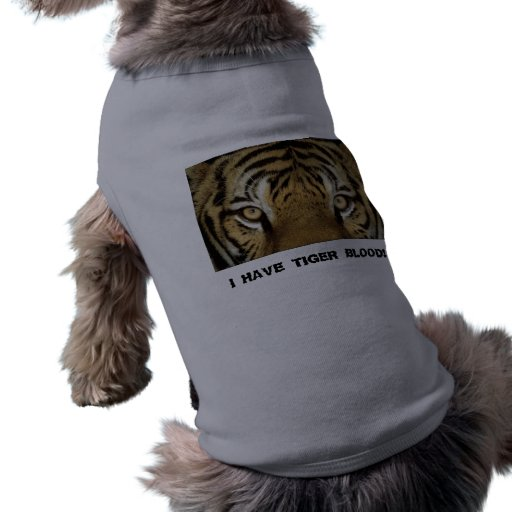 DOGGY TIGER BLOOD PET SHIRT