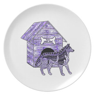 Doghouse Plate
