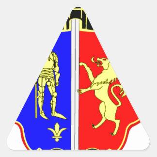 Dogis Resort Souvenir Triangle Sticker