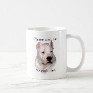 Dogo Argentino Anti-BSL Mugs