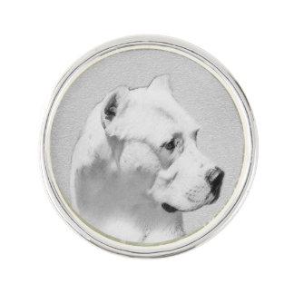 Dogo Argentino Lapel Pin