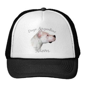 Dogo Argentino Mom 2 Mesh Hats