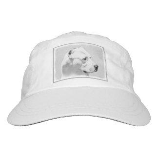 Dogo Argentino Painting - Original Dog Art Hat