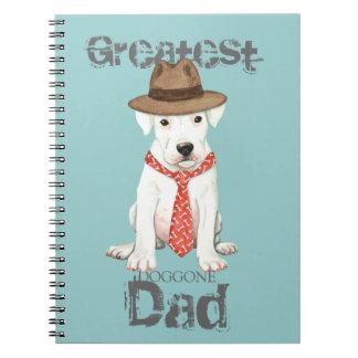 Dogo Dad Spiral Notebook