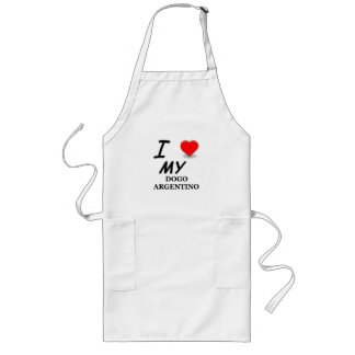 dogo love long apron