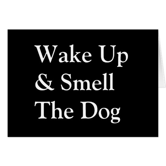 DogPolitics.com Wake Up Note Cards