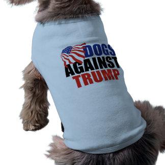 Dogs Against Donald Trump Sleeveless Dog Shirt