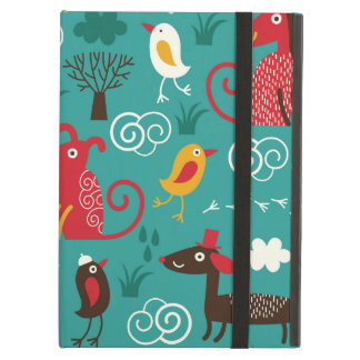 Dogs and birds iPad air cases