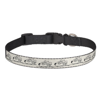 """""""Dogs and Boats""""  Dog Collar"""