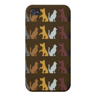 Dogs and Cats iPhone 4 Cover