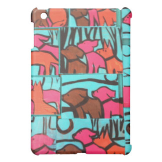 Dogs and Cats painting Case For The iPad Mini