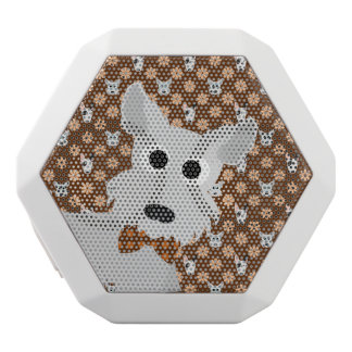 Dogs and Flowers Brown Rex Speaker