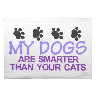 Dogs Are Smarter Placemat