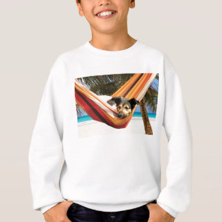 Dog's Beach Time Sweatshirt