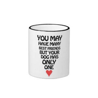 Dog's Best Friend Mug