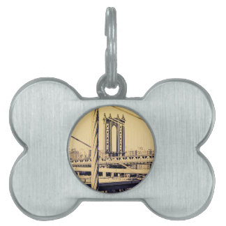 Dog's best friend NY Edition Pet ID Tag