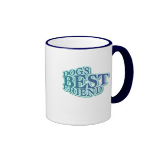 Dog's Best Friend Tshirts and Gifts Coffee Mugs