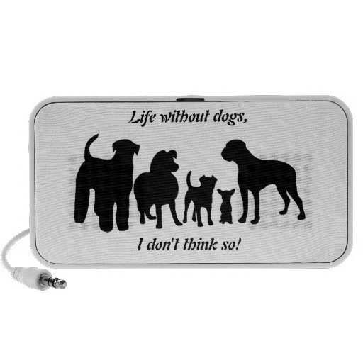 Dogs breed group black silhouette doodle speakers